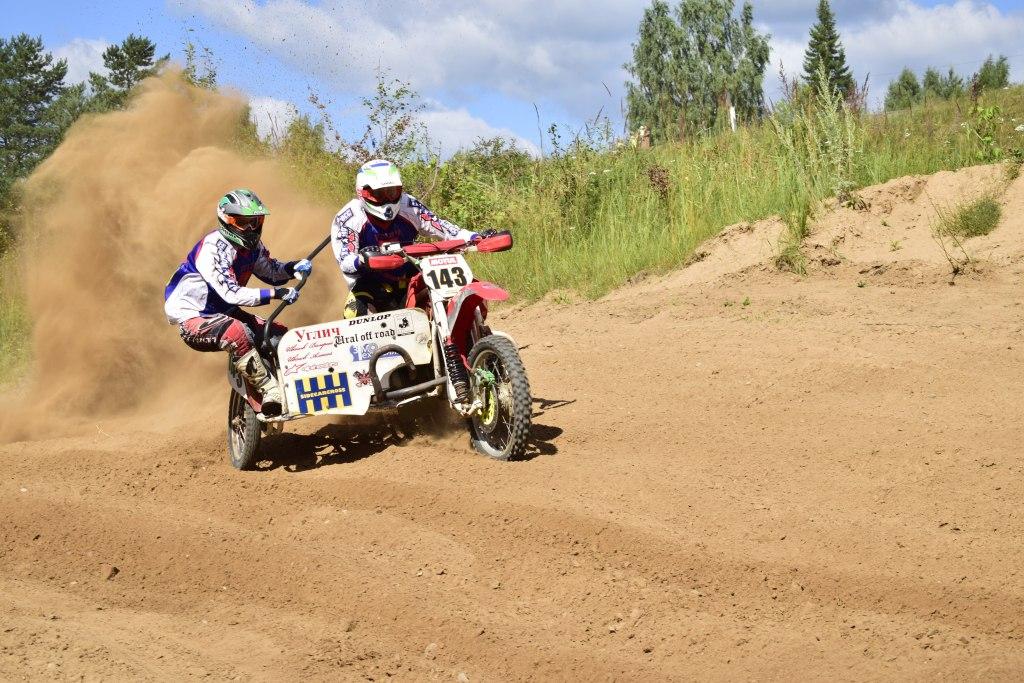 Соревнования по мотокроссу в городе Судиславль Костромской области