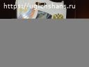 Чайный сервиз с символикой России.