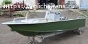 Купить лодку (катер) Wyatboat-390 У с консолью