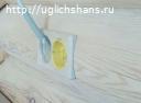 Подрозетники для оцилиндрованного бревна