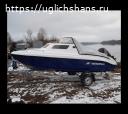 Продаем катер (лодку) Неман-500 с каютой комбинированный.