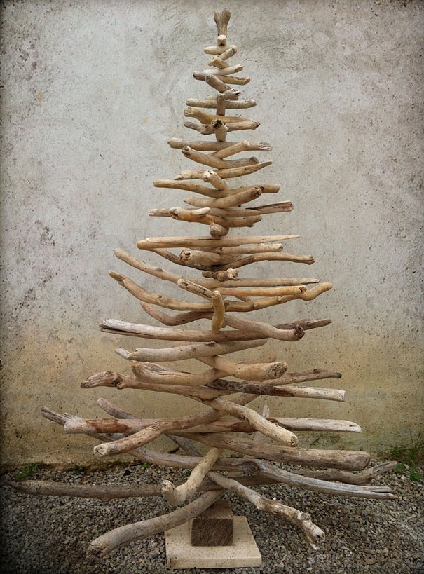 Как сделать елку на стене своими руками